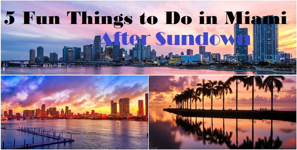 5 Fun Things to Do in Miami After Sundown