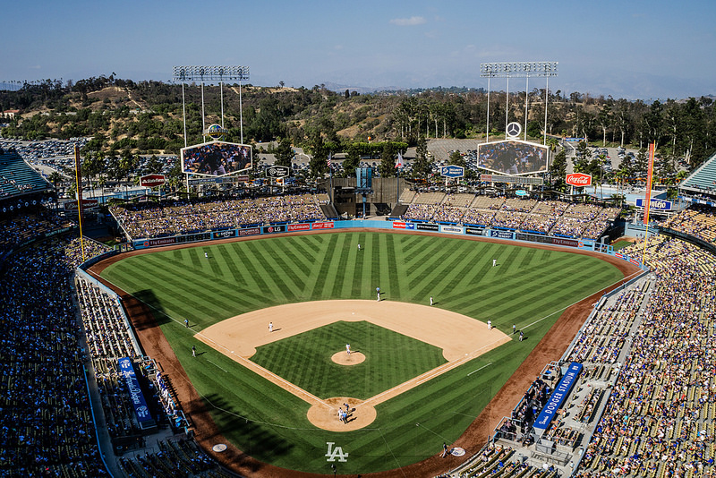 Visiting Dodgers Stadium on a Game Day